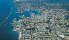 vista aerea di Genova